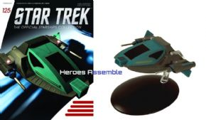 Star Trek Official Starships Collection #125 Alice Eaglemoss